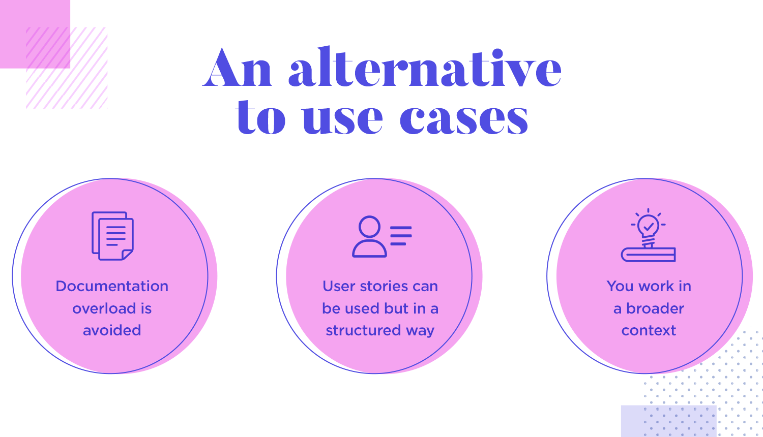 User story mapping is an alternative to use cases