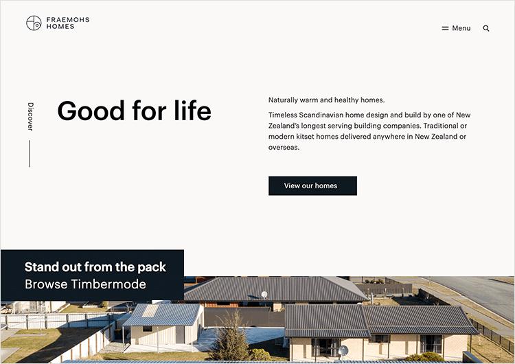 White space design - Fraemohs Homes