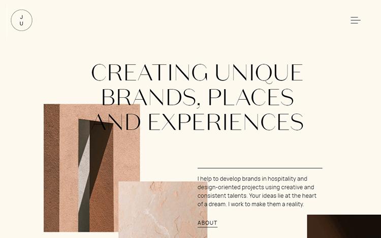 White space design - Juliana Cavalcanti