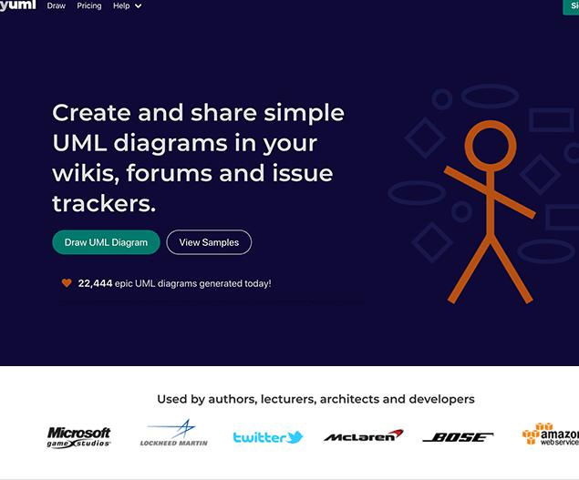 yuml diagram tool for developers