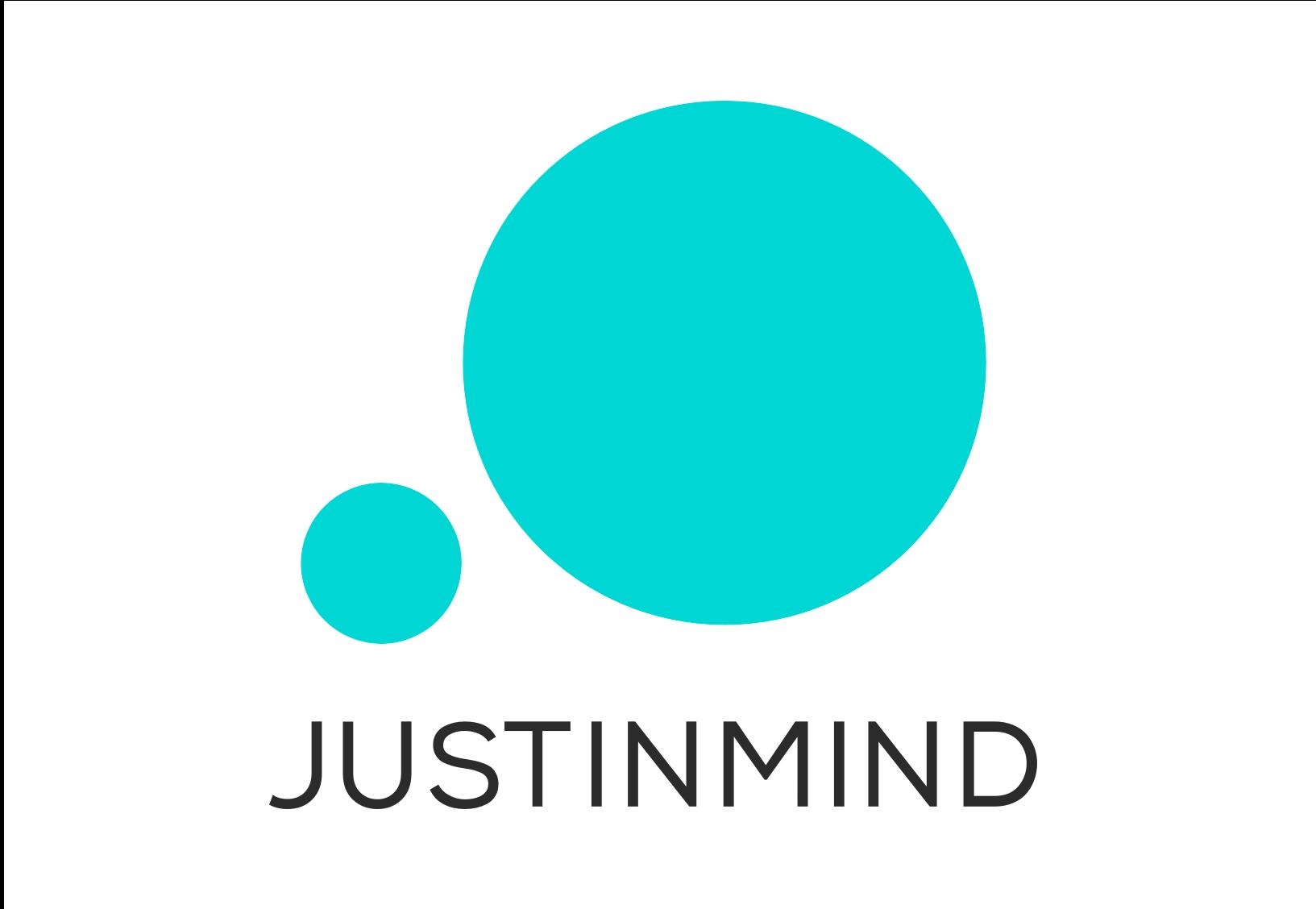 Justinmind stacked logo