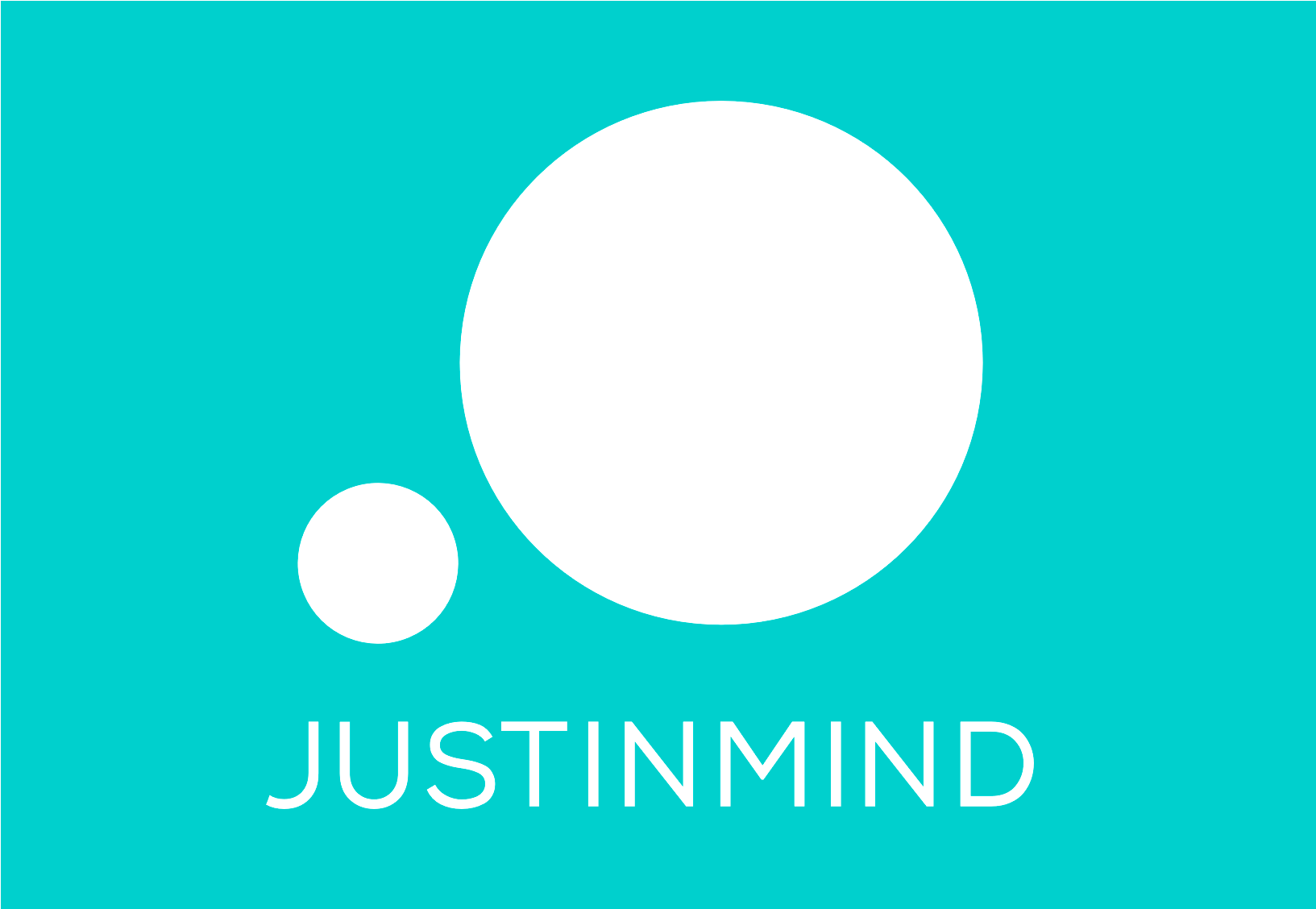 Justinmind stacked logo (inverted version)