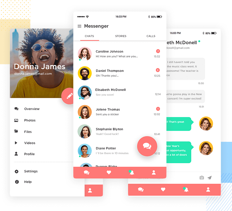 validate requirements for a messenger app