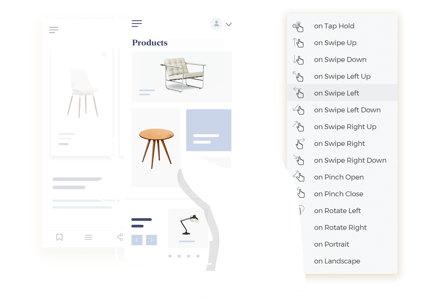 Design and test mobile app interactions with Justinmind