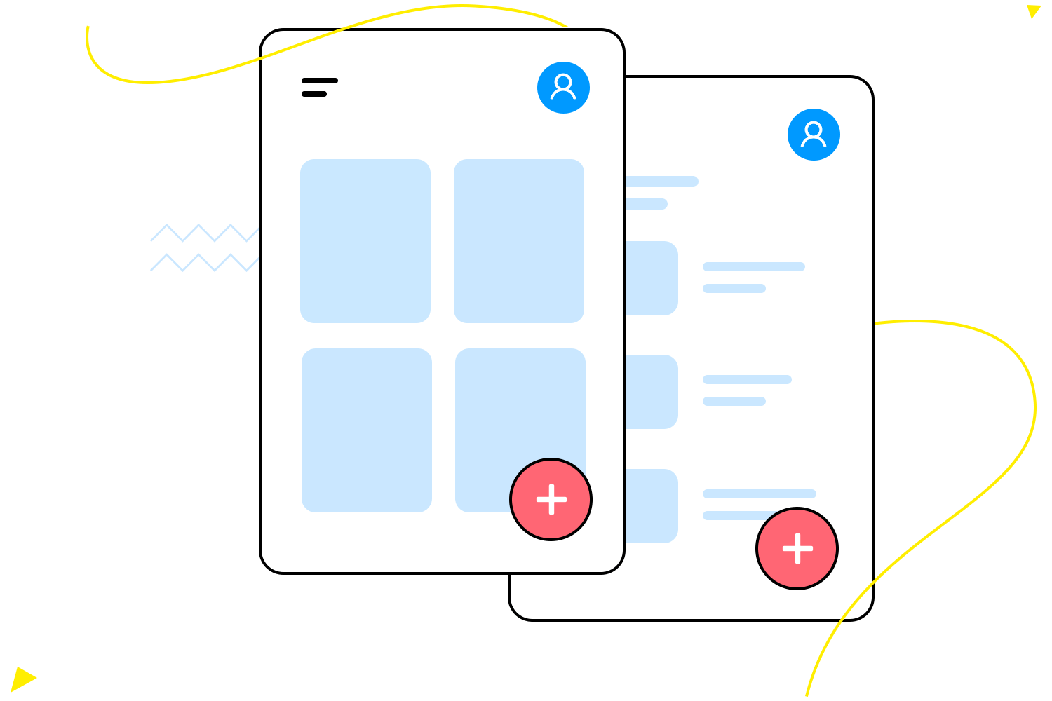 Maintain a design system with templates in Justinmind