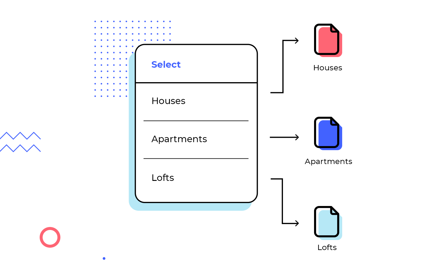 Create conditional web interactions in Justinmind