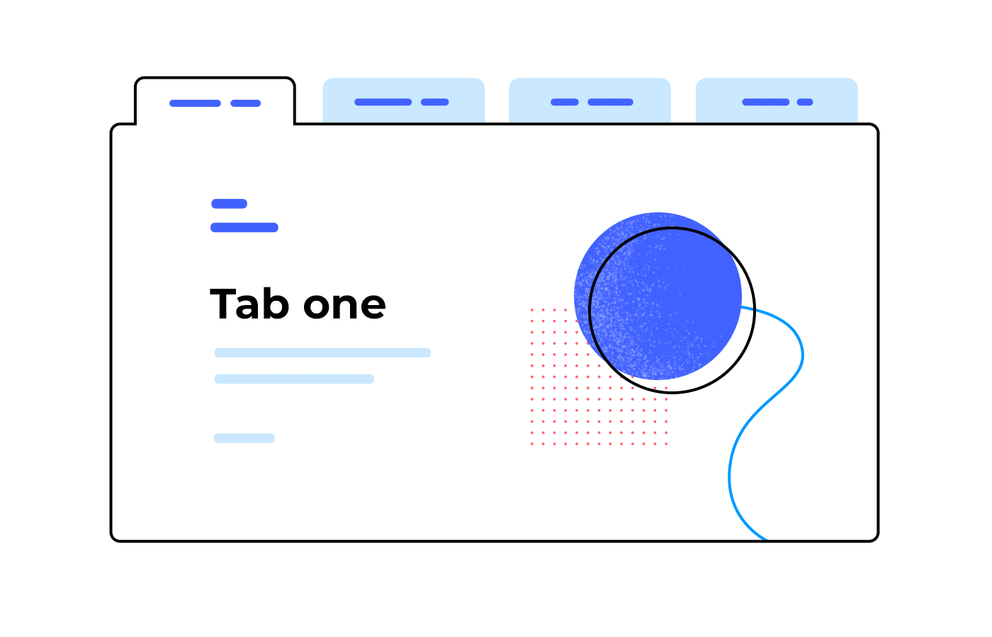 Use dynamic panels to create dynamic navigation within a screen