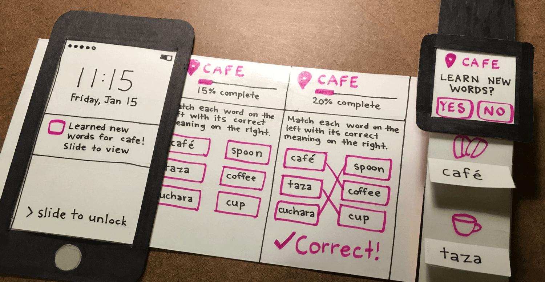 Multi-channel paper prototypes