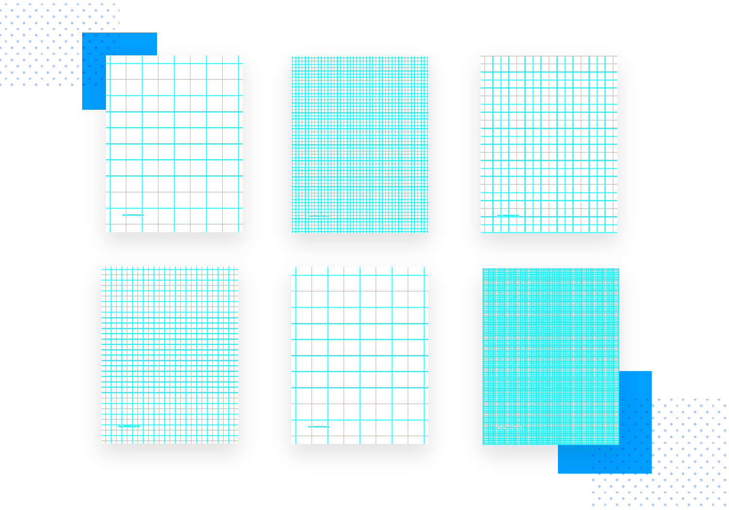 Paper prototyping templates - downloadable graph paper