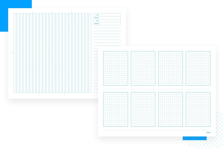 Paper prototyping templates - Konigi