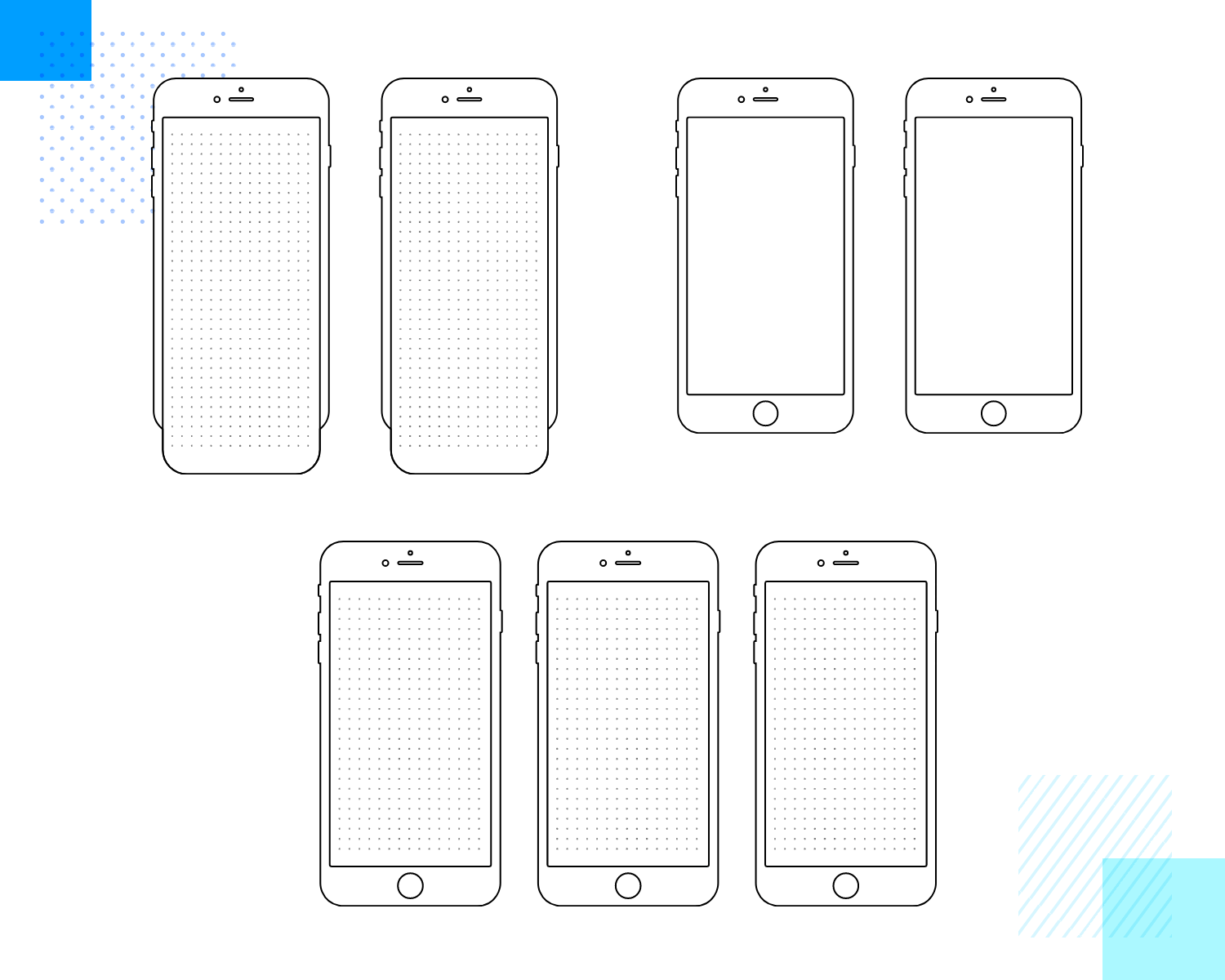 Paper prototyping templates for smart phones
