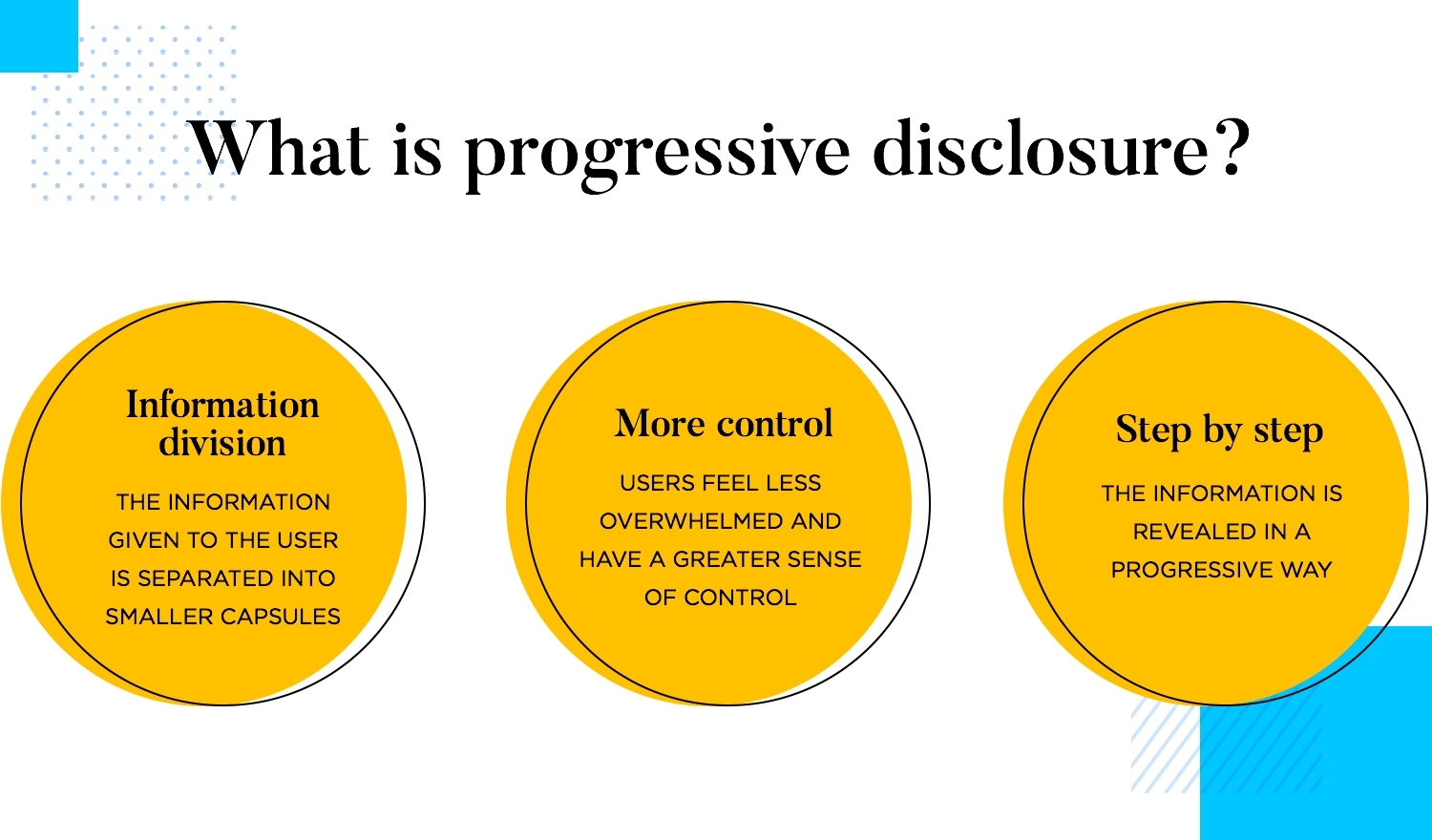 what is progressive disclosure as ux pattern
