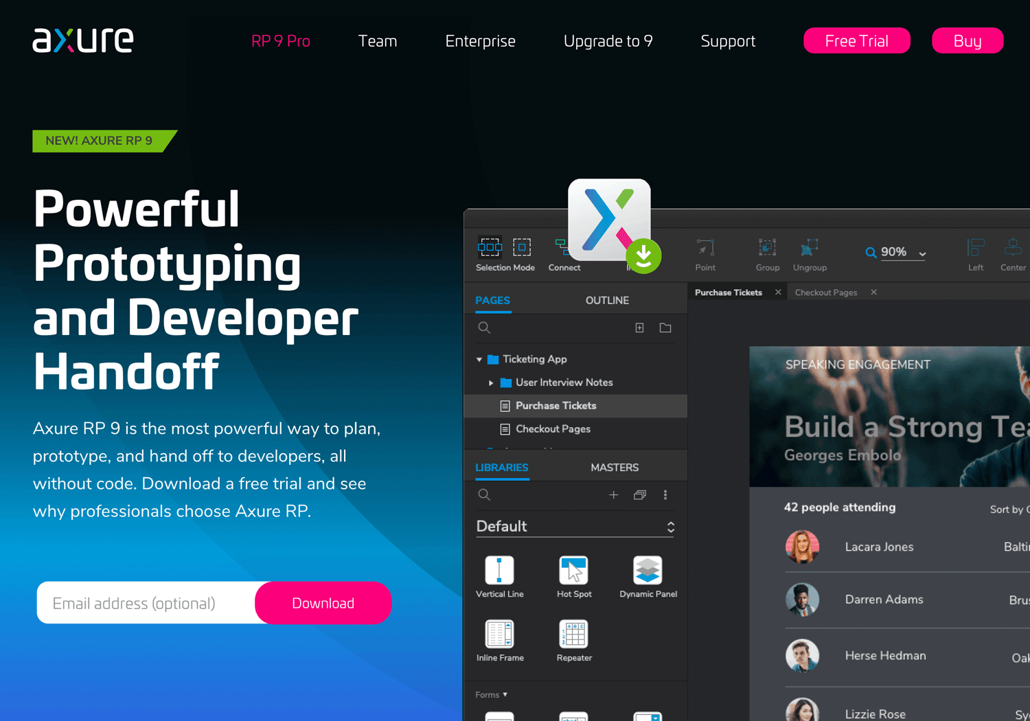 UX design tools - Axure RP