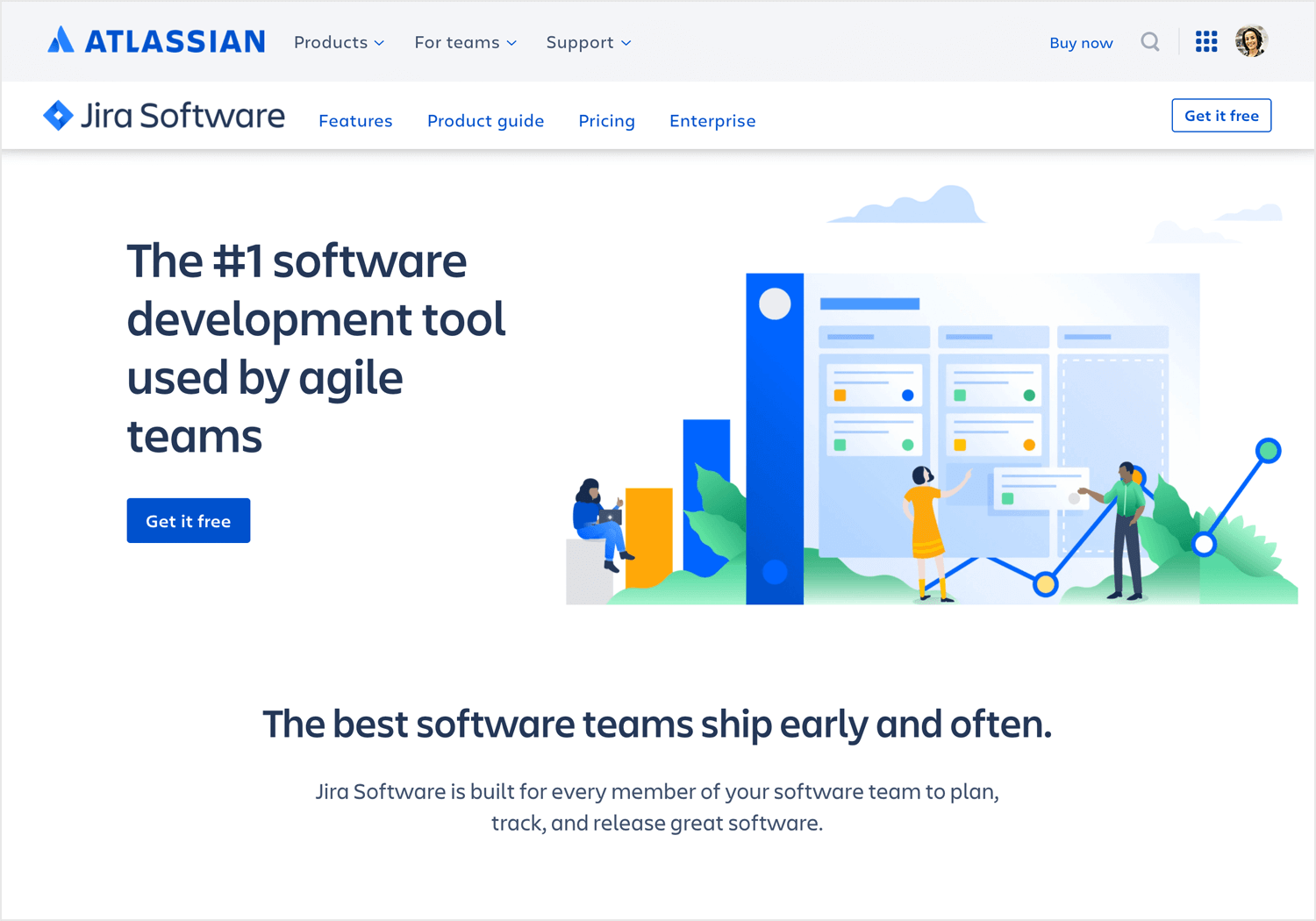 Best Agile tools - Atlassian Jira