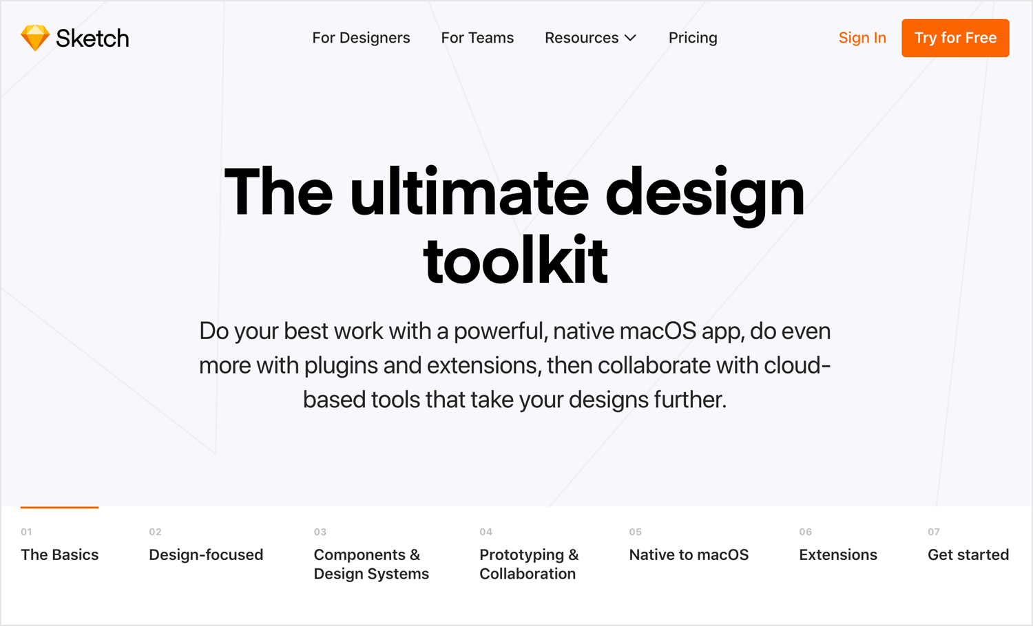 Best UI design tools - Sketch