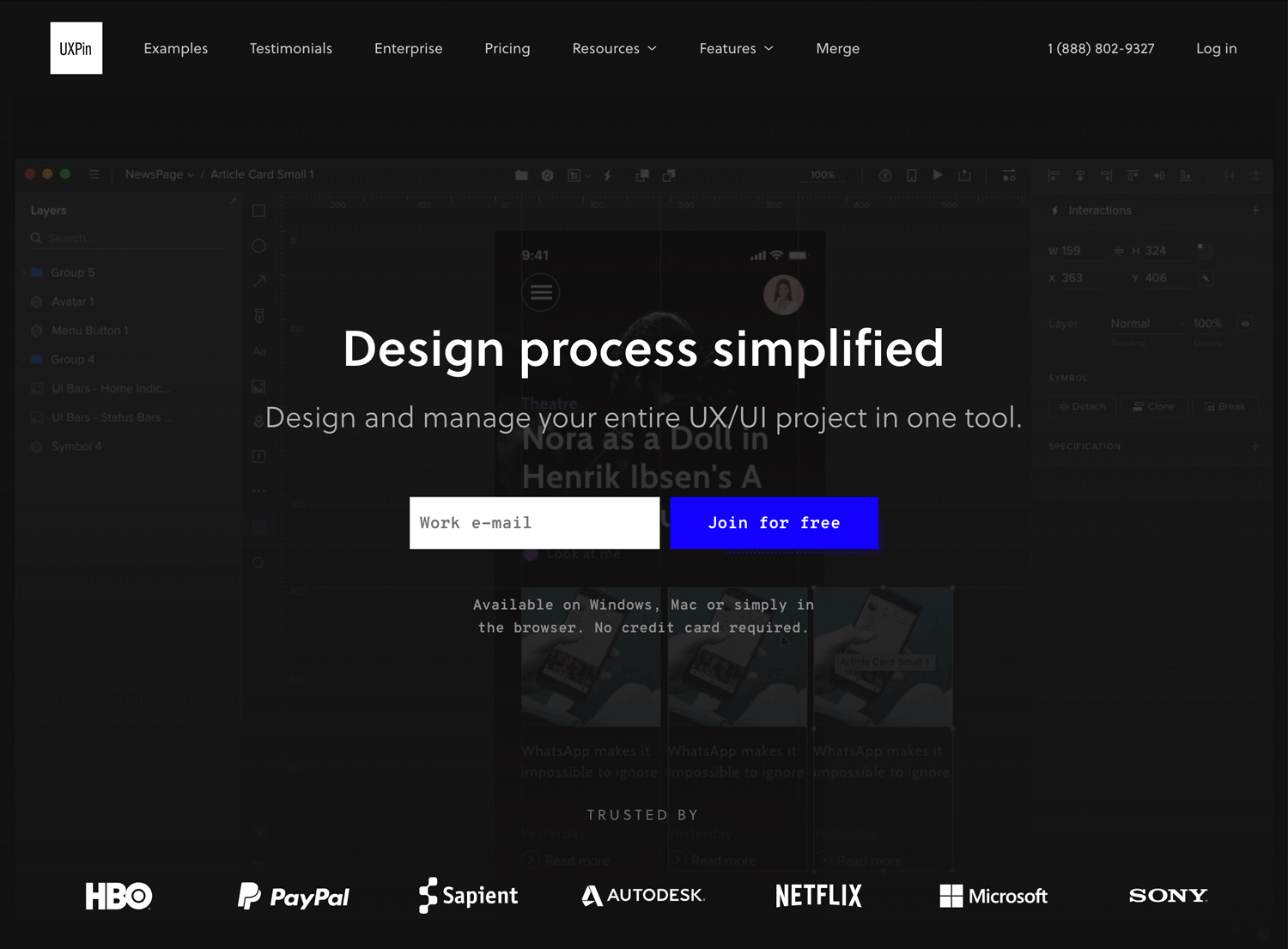 Best UI design tools - UXPin