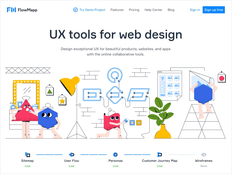 User flow tools - Flowmapp