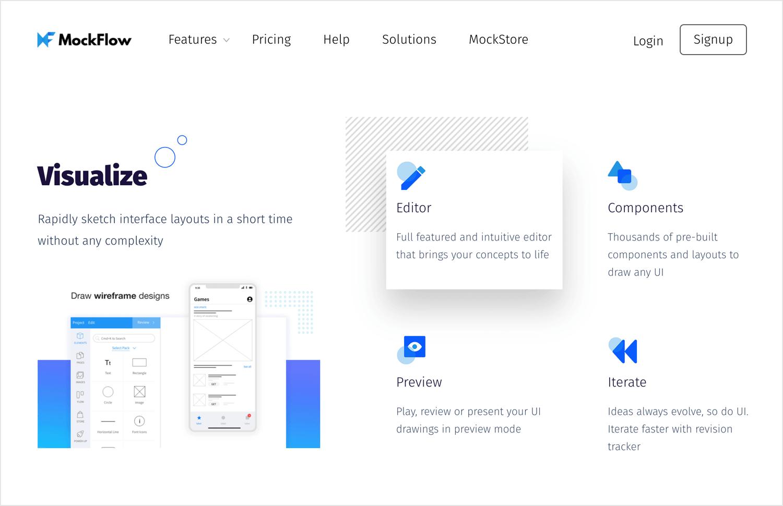 User flow tools - Mockflow
