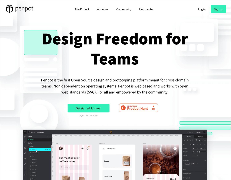UX design tools - Penpot