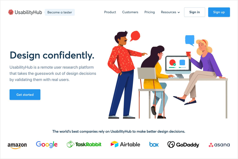 UI testing tools - UsabilityHub