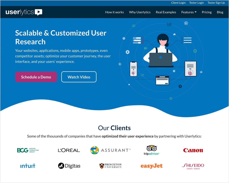 UI testing tools - Userlytics