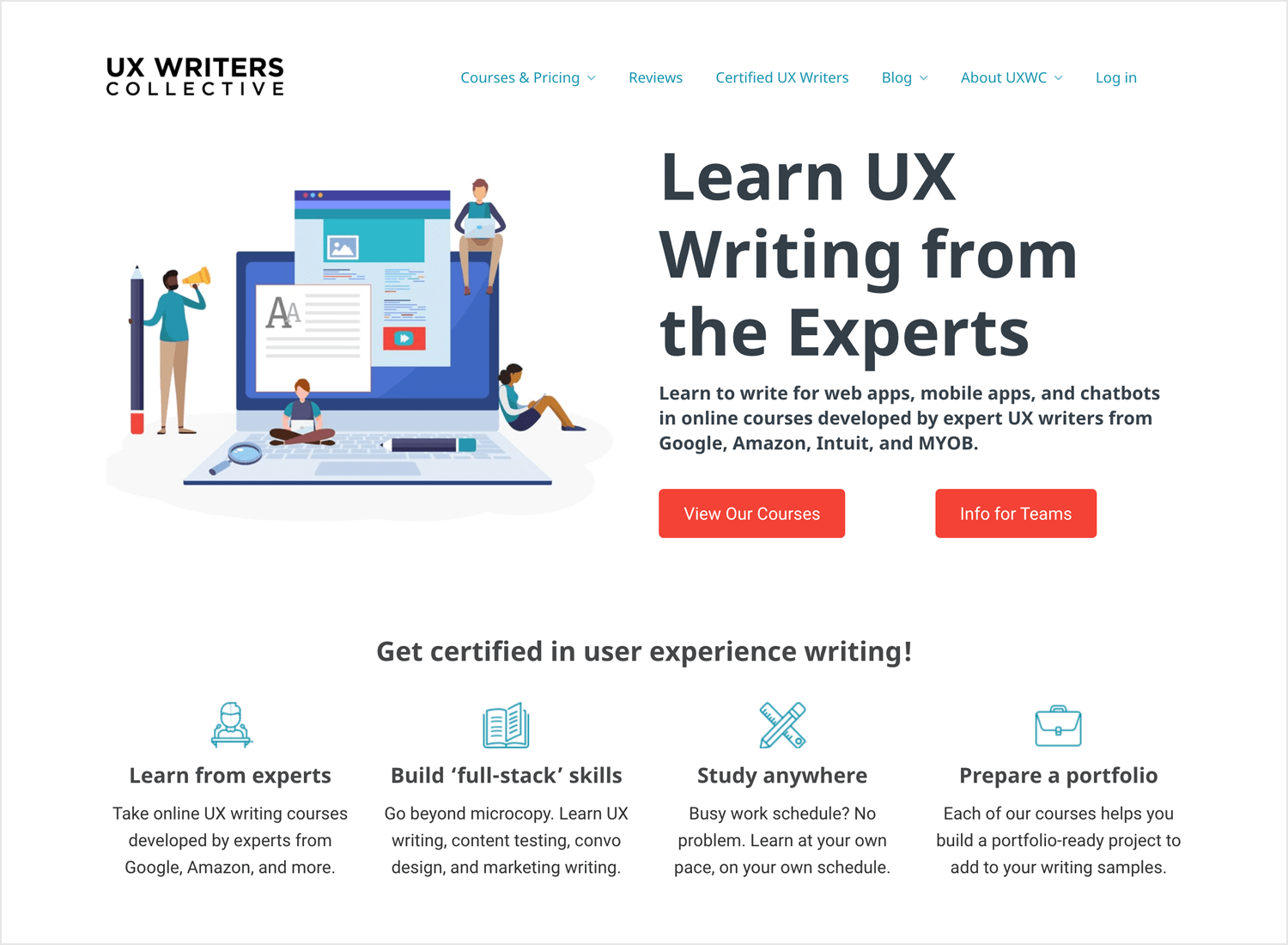 UX Writers Collective course