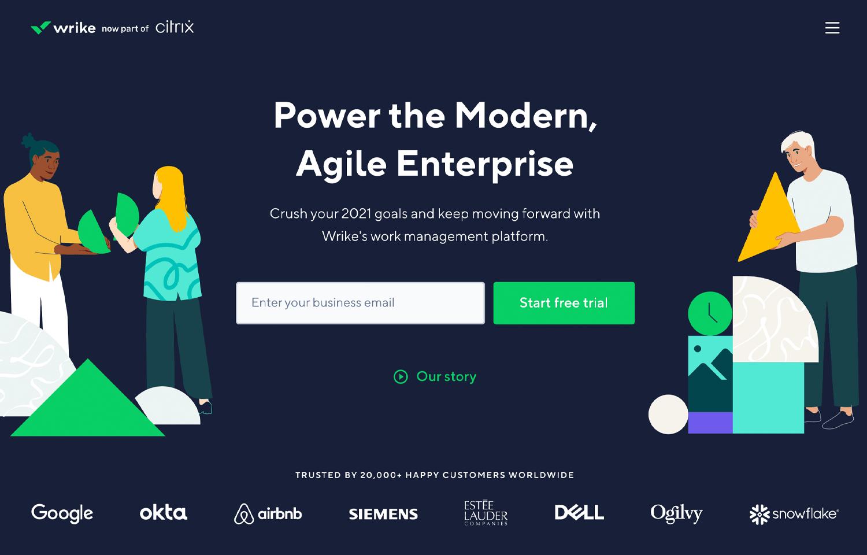 Agile tools for UX - Wrike