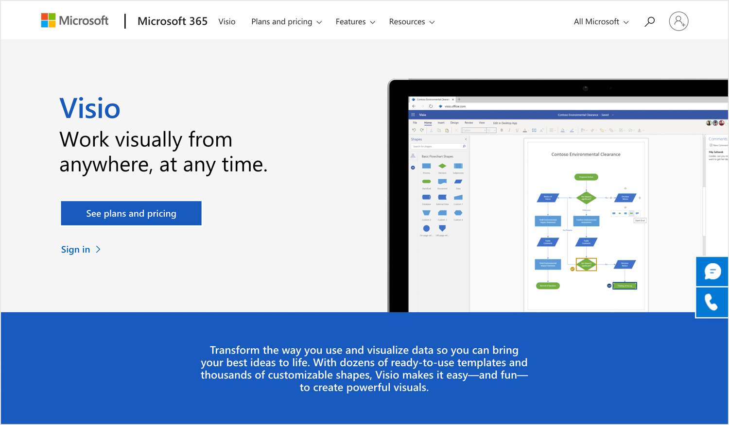 Best user flow tools - Microsoft Visio