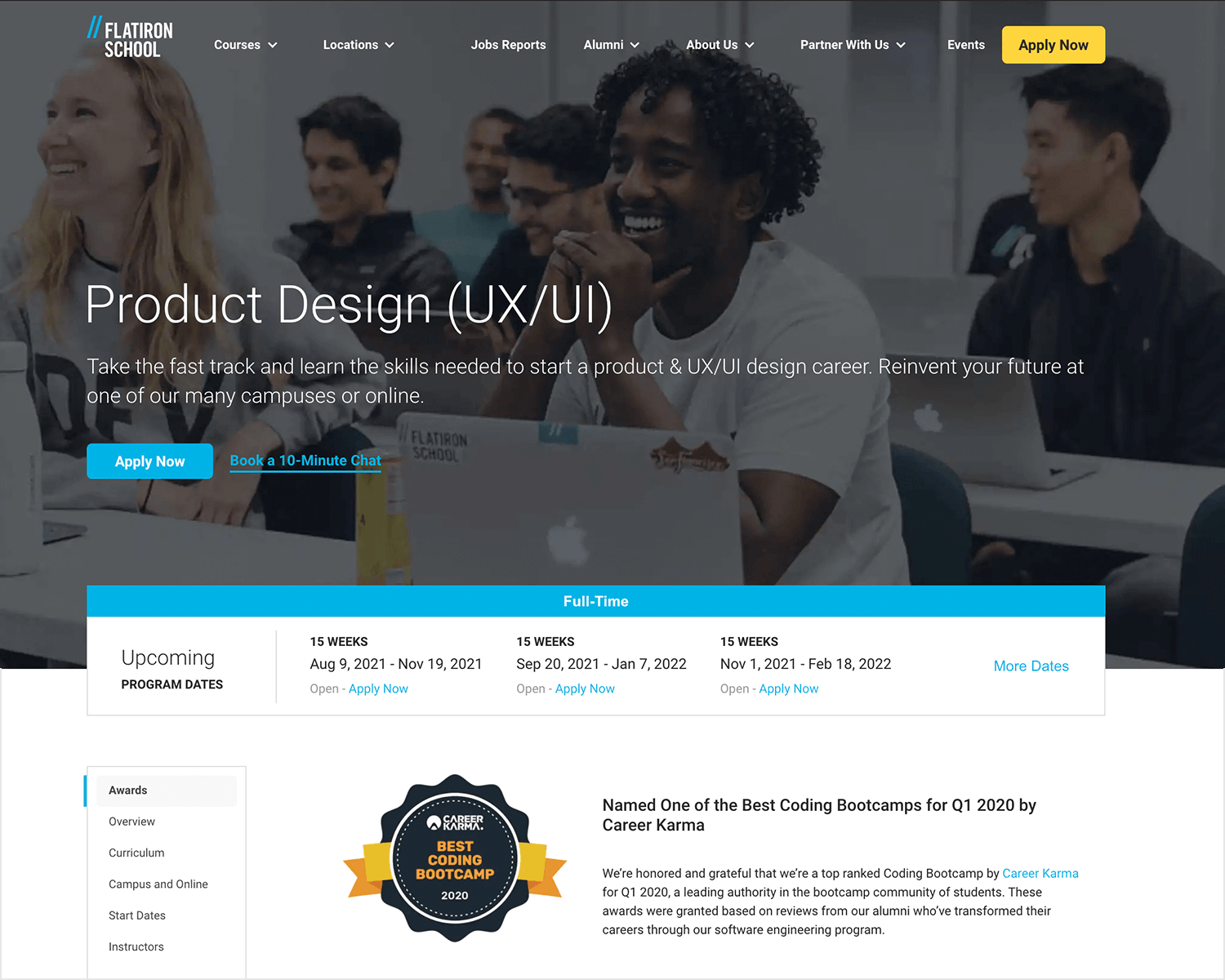 paid ux design course by flatiron