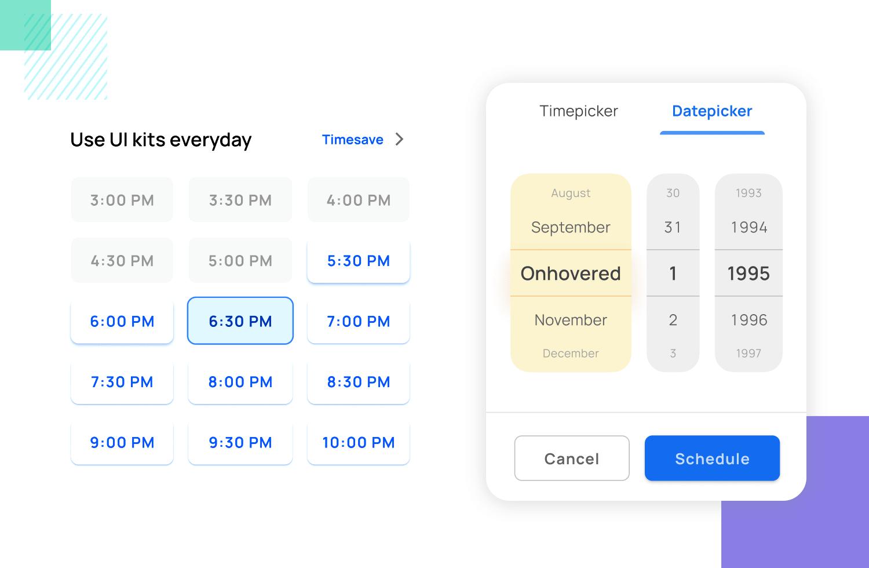 minimizing data entry in mobile app ux design