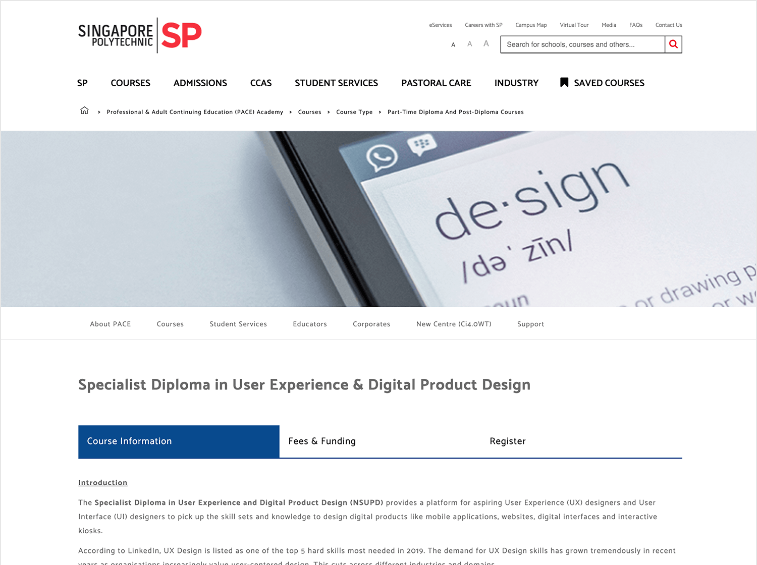 Specialism UX course in Singapore