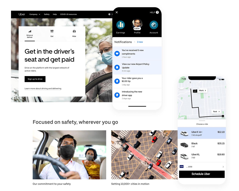 uber as example of ux design based on mental models
