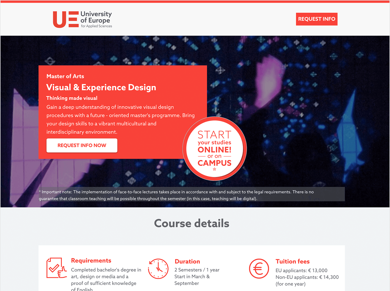 ux design course at the berlin university of applied sciences
