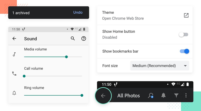 user control as a principle for ux design