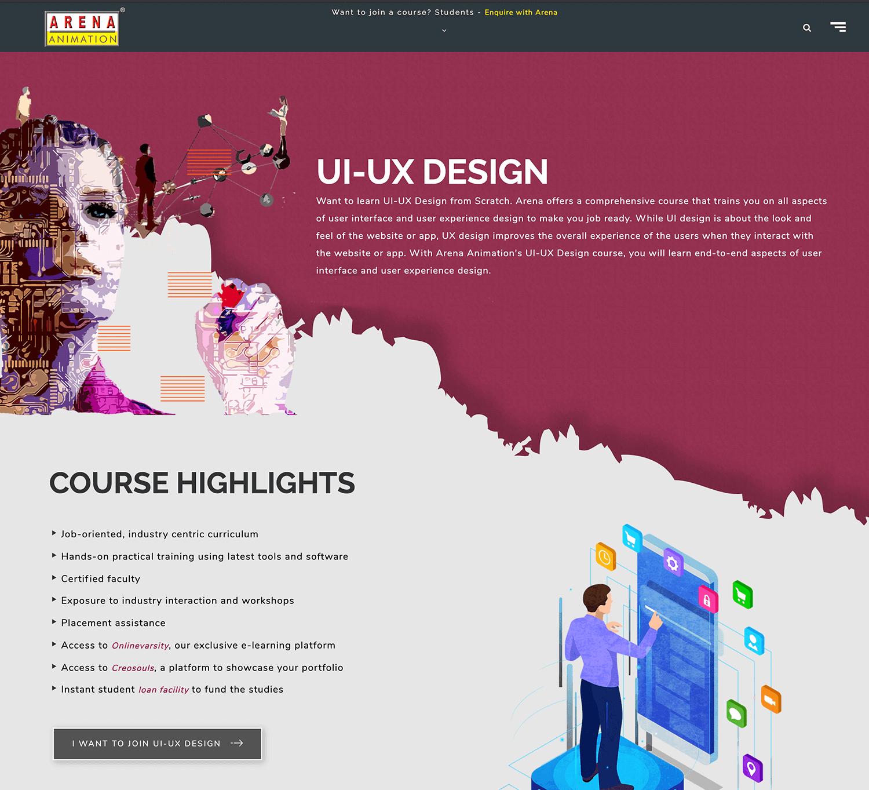 ux design certificate in bangalore india