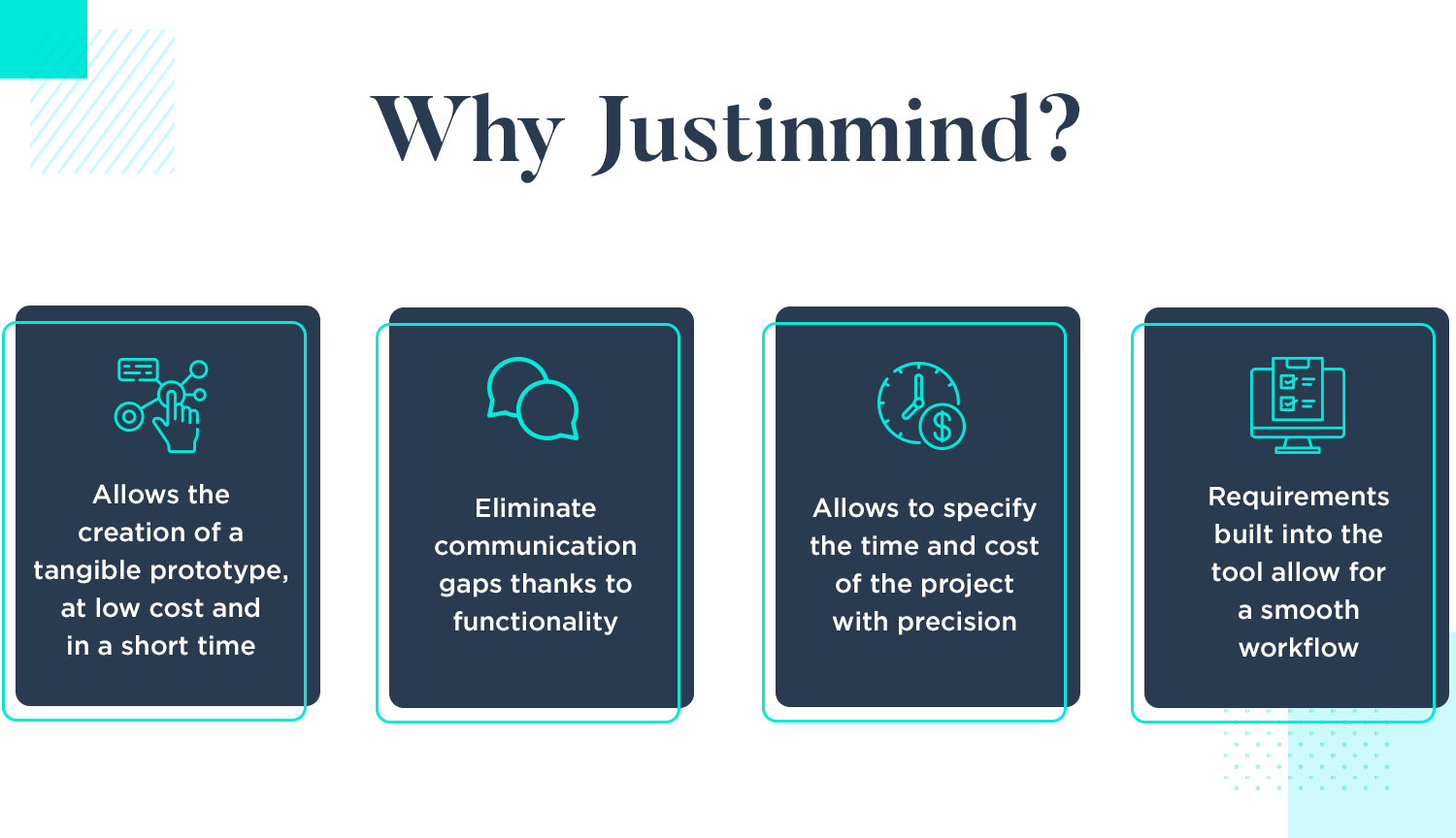 why virtina uses and trusts justinmind