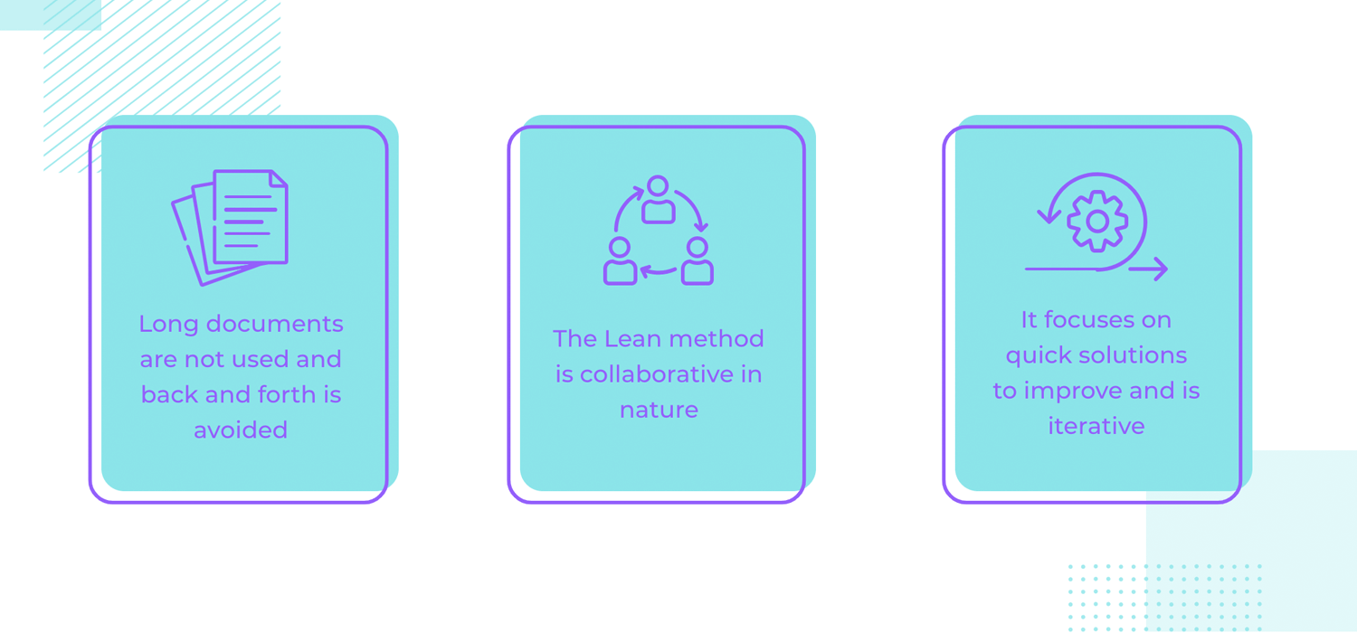 a few examples of how lean ux saves time in projects
