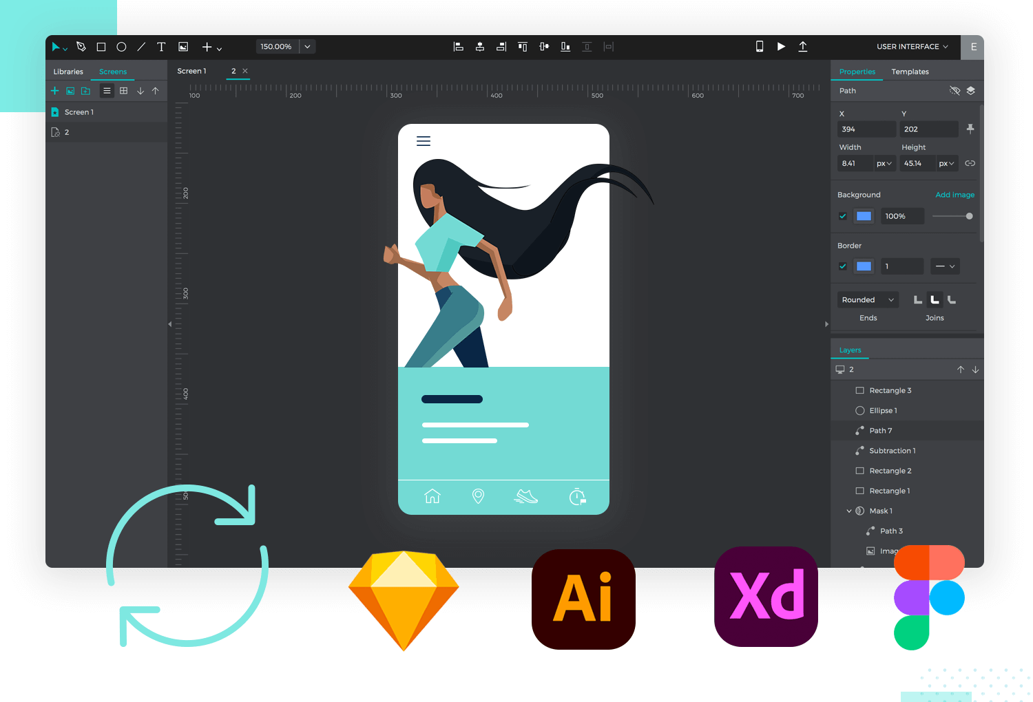 justinmind's new integration with classic design tools