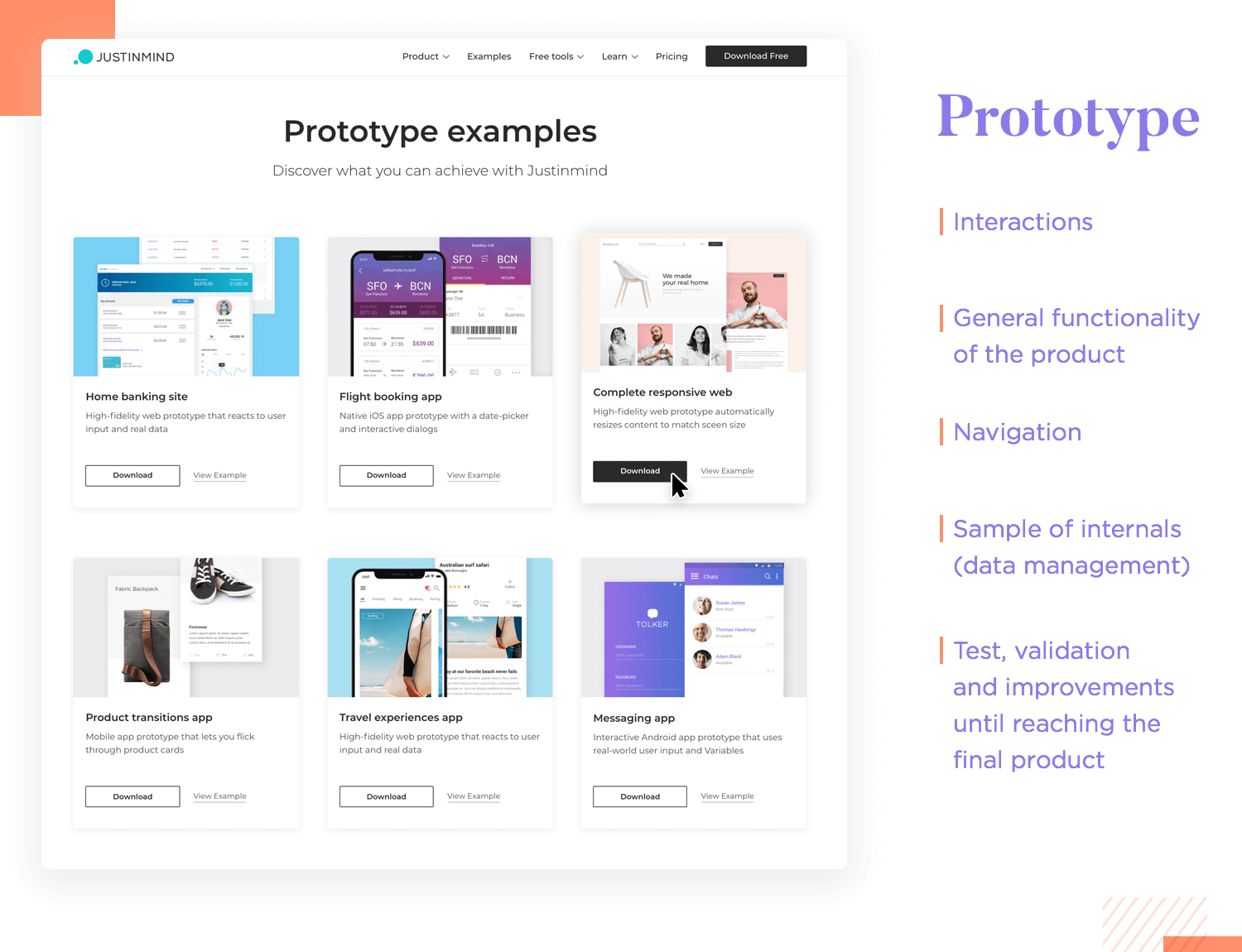 prototyping and interactions as part of ux design