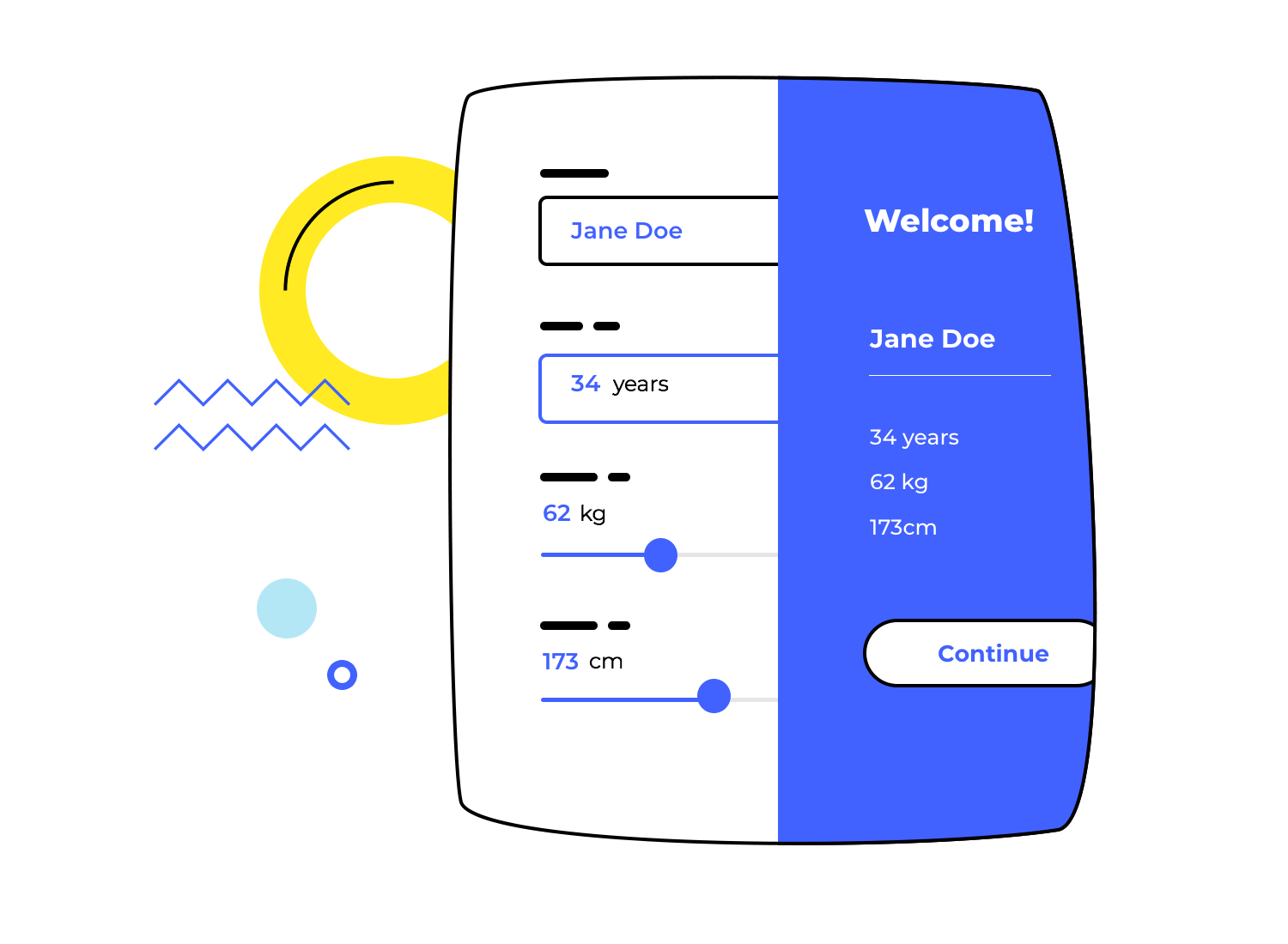 UX design tool for designing data-driven products