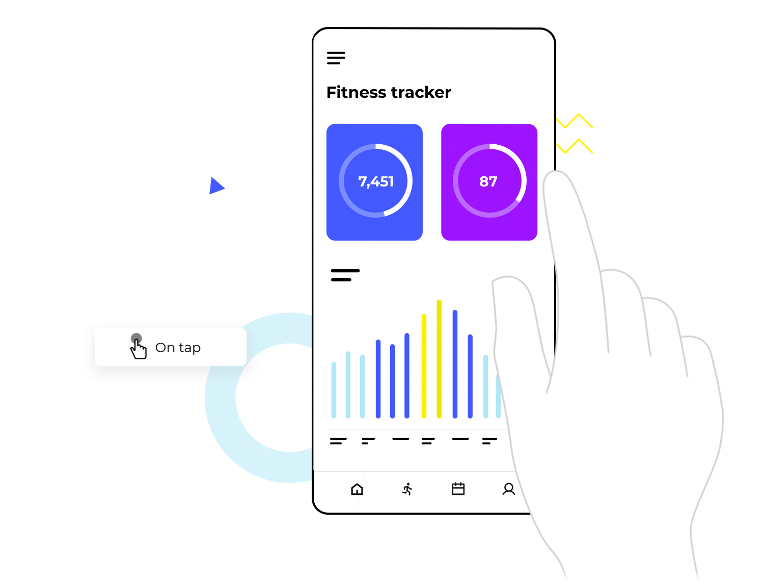 UX design tool for web and mobile app interactions