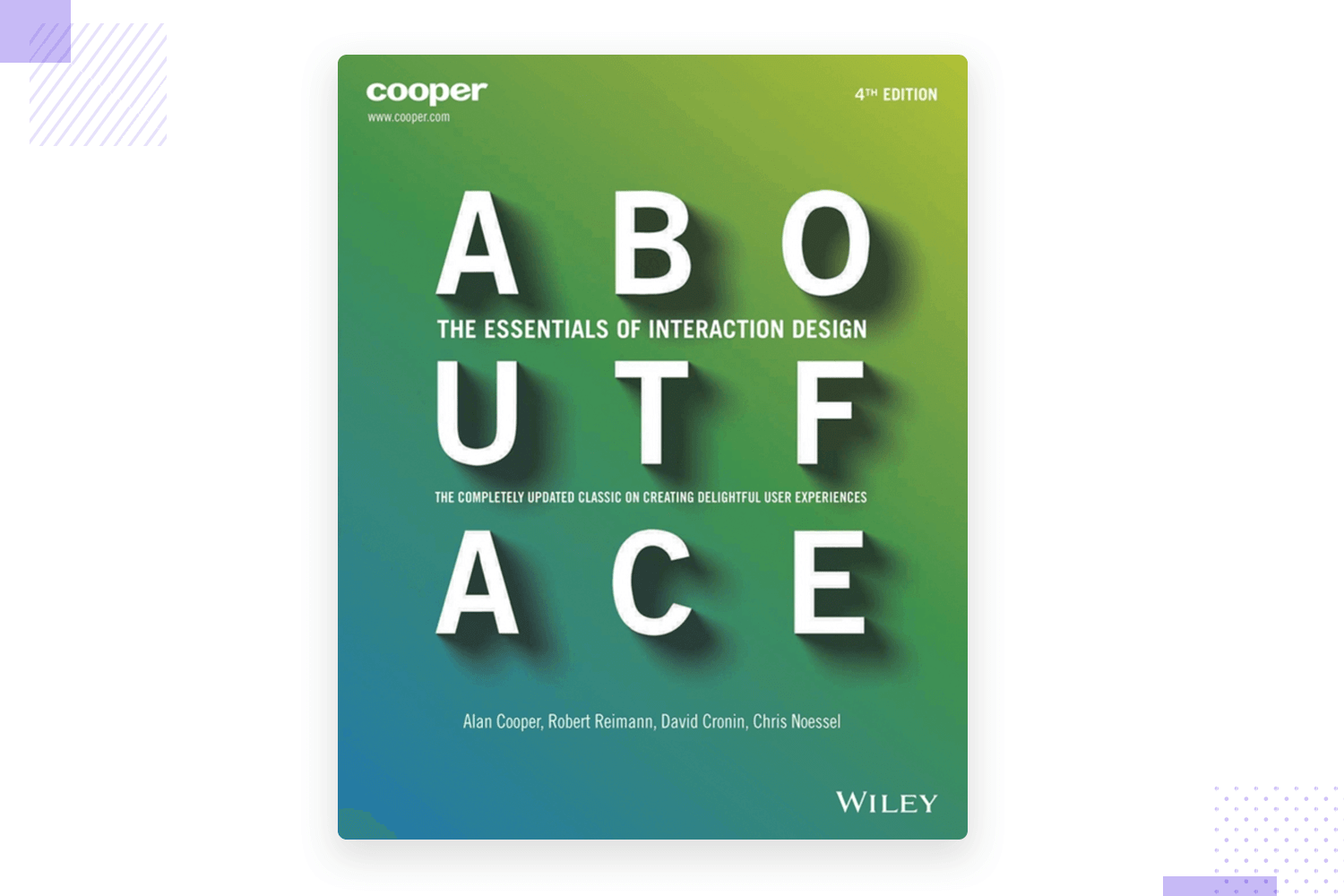 about face as ux design book