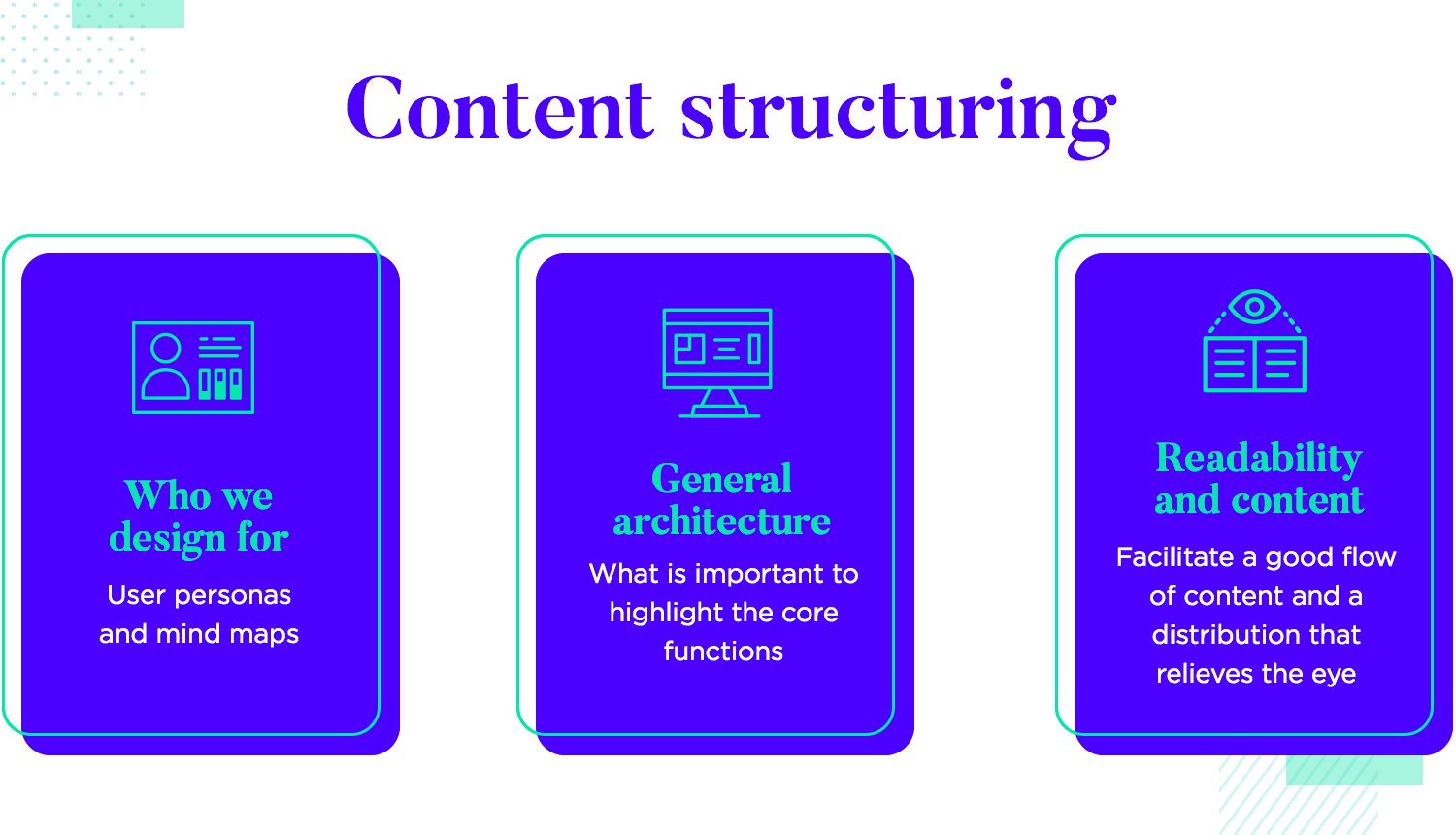 the role of content structuring in ui design