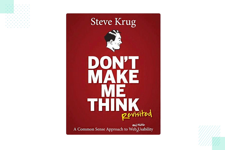 ux design book - don't make me think