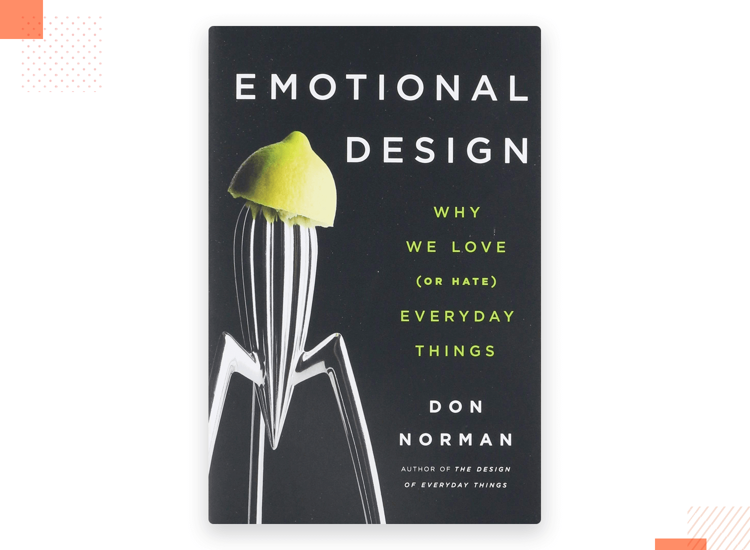 emaotional design as ux book by don norman