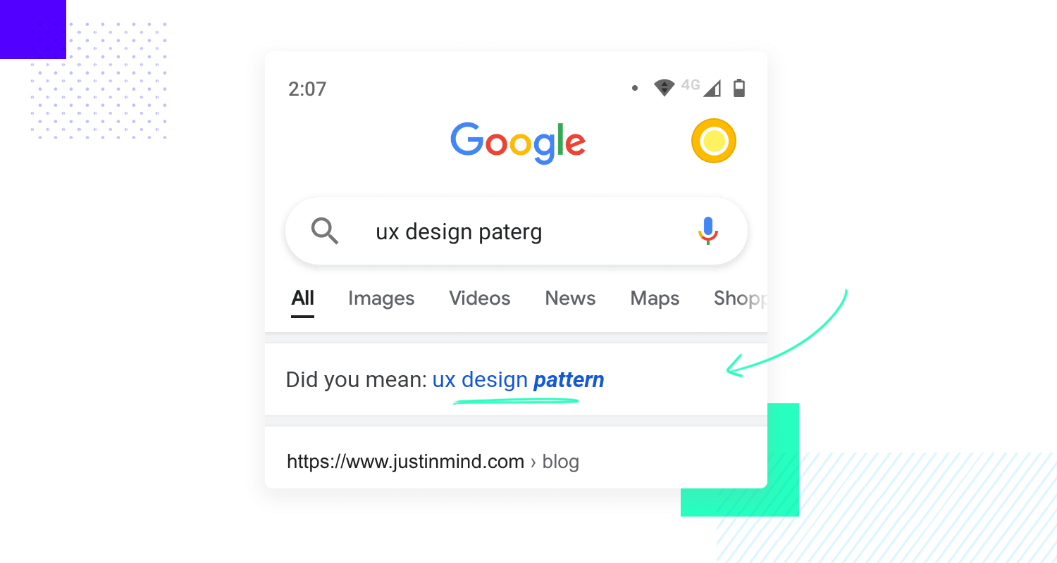example of forgiving format as ui pattern