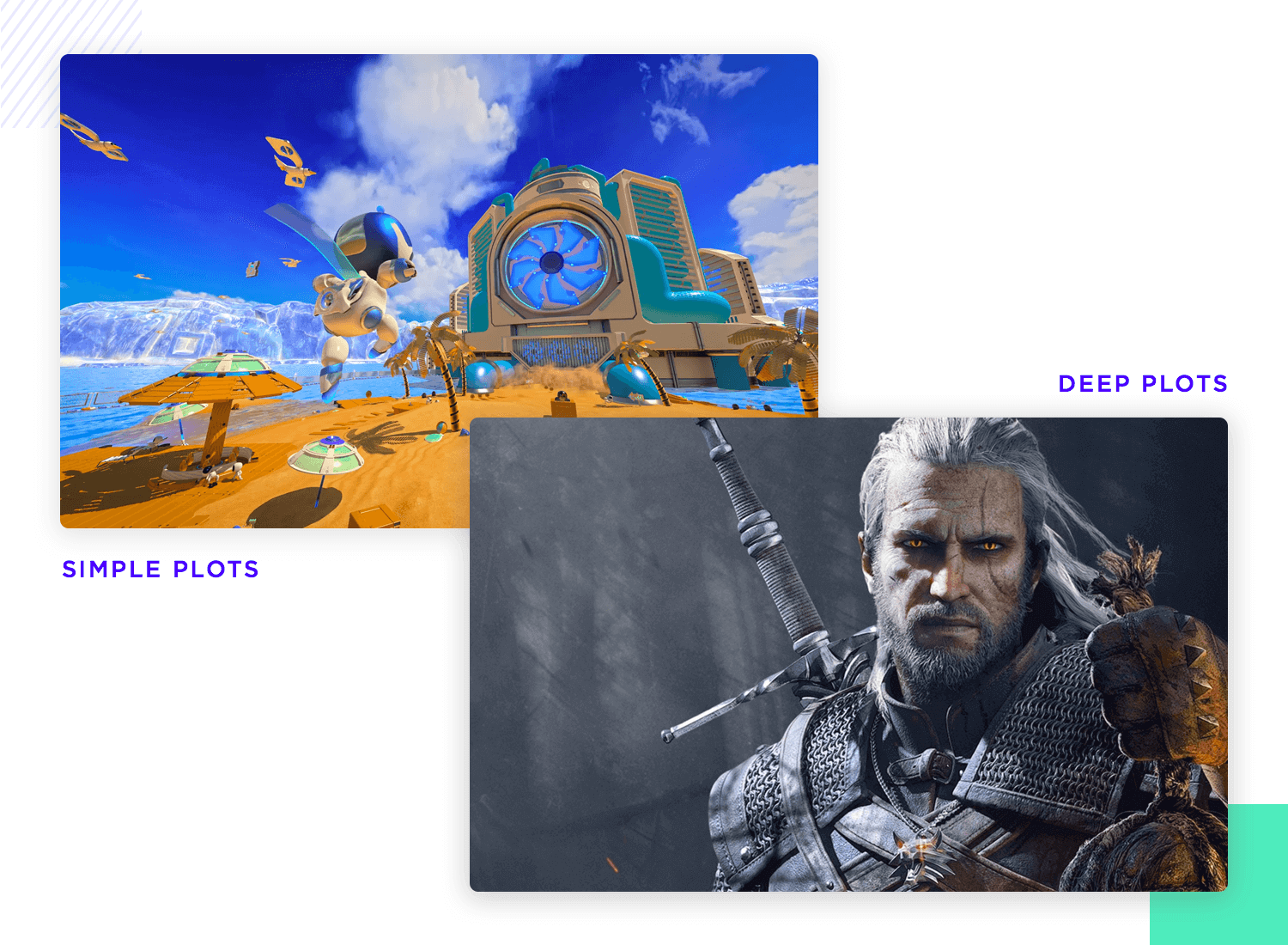 plot and players in game ui design