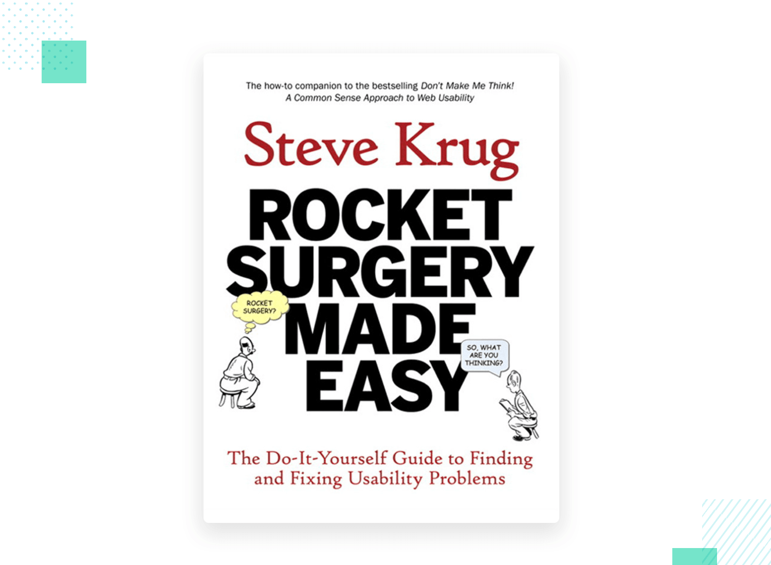 rocket surgery made easy book on usability testing