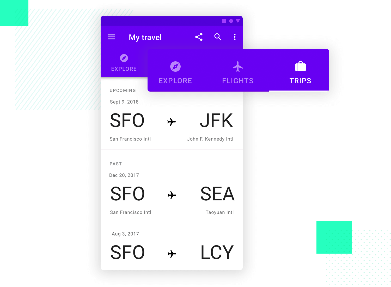 tab system of navigation as ui design pattern