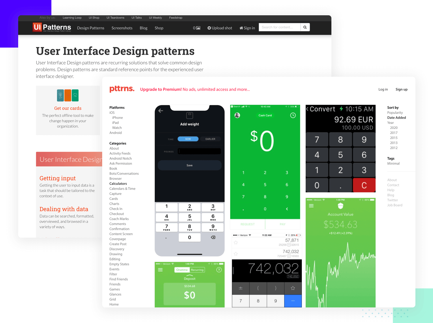 ui design and the role of design patterns